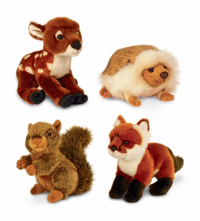 WOODLAND ANIMALS 18CM