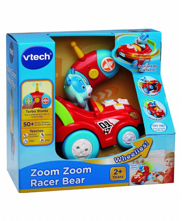 ZOOM ZOOM RACER BEAR