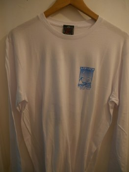 ADULT SHOP L/S TEE P2 WHITE S
