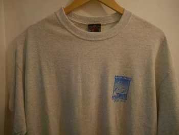 ADULT SHOP TEE PRINT 2 ASH 2XL