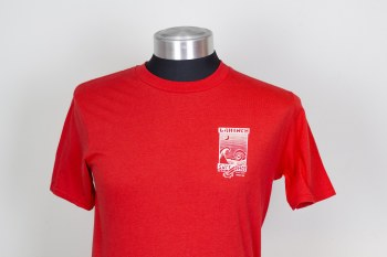 ADULT SHOP TEE PRINT 2 RED S