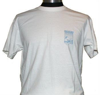 ADULT SHOP TEE PRINT 2 WHITE L