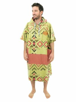 ALL-IN V PONCHO BUMPY INDIANBROWN/ARGILE