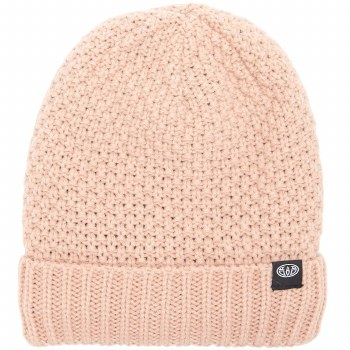 ISABELLA KNITTED BEANIE PINK