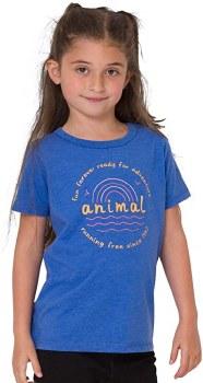 ANIMAL HORIZON JNR TEE BLUE GXS 7/8