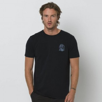 ANIMAL SLAVE TO GRAPHIC TEE BLACK M