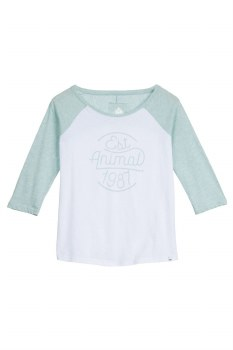ANIMAL WIPE OUT L/S TEE GREEN 10