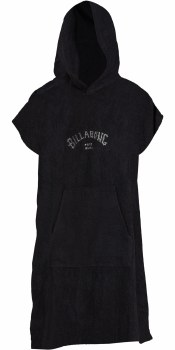 BILLABONG MEN'S HOODED TOWEL BLACK