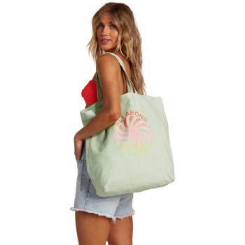 BILLABONG ALL ABOUT IT TOTE KEY LIME
