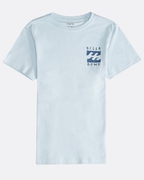 BILLABONG HIFIVE TEE JNR 14 BLUE