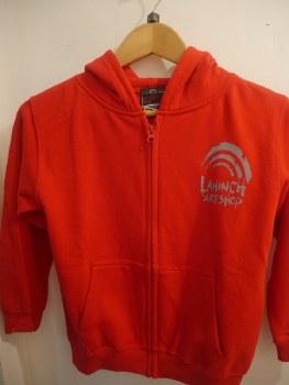 Junior shop zip hoody Red M