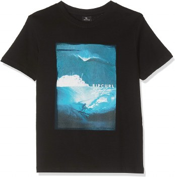 RIP CURL GOOD BAD DAY JNR TEE BLK 16