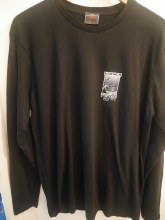ADULT SHOP L/S TEE P2 BLACK S
