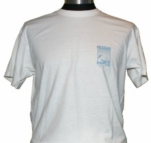 ADULT SHOP TEE PRINT 2 WHITE S