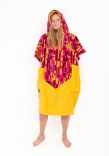 ALL-IN V PONCHO JACQUARD VIOLA ADULT