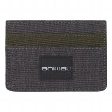 ANIMAL EMPHATIC CARD WALLET OLIVE