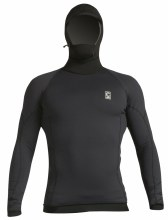 l/sleeved polypro hooded XL