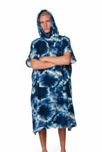 BOYS HOODED TOWEL TIE DYE