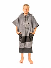 ALL-IN V PONCHO CHARCOAL/BLACK JUNIOR