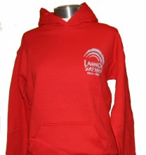 Junior Shop Hoody Red L