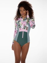 PROTEST ALLY L/S SWIMSUIT BALANCE XS/6
