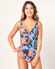 RIP CURL STILL IN PARADISE SWIMSUIT BLACK XS