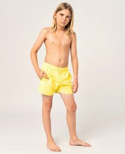 RIP CURL JNR CLASSIC VOLLEY SHORTS YELLOW 8