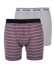 RC BOXER STRIPE/SOLID M PURPL