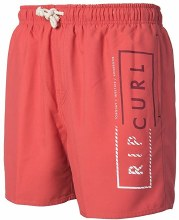 RIP CURL  volley core 16 red XXL