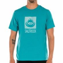 SALTROCK MEN SHOCKWAVE TEE TURQ XL