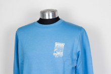 SURF SHOP CREW SWEATER  TURQ S