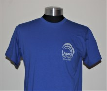 SHOP T-SHIRT PRINT 3 ROYAL BLUE M