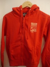 WOMEN'S SHOP ZIP HOODY RED XXL