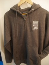 SURF SHOP ZIP HOODY P2 CHARCOAL S