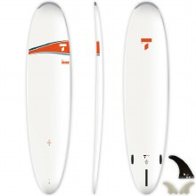 """TAHE 8'4"""" DURA TEC SURFBOARD WITH FINS"""