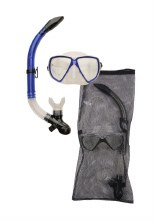 JNR SILICONE MASK AND SNORKEL