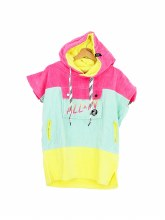 ALL-IN JUNIOR V PONCHO 80S PINK