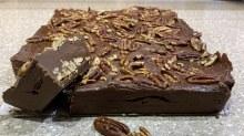 Chocolate Fudge w/ Pecans