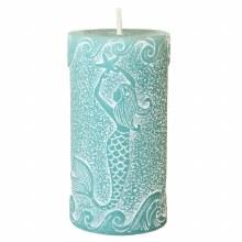 Mermaid Pillar Candle