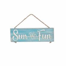 Sun & Fun Wall Plaque