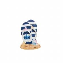 Resin Nautical Flip Flop Figurine
