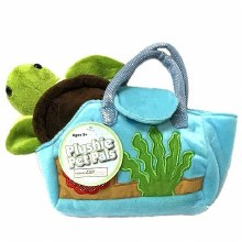 Skip to the beginning of the images gallery Turtle Plush in Purse