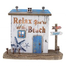 Large Relax at the Beach LED Standing House
