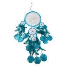 Turquoise Dreamcatcher/ Capiz Chime