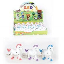 Skip to the beginning of the images gallery Light & Sound Unicorn Keychain