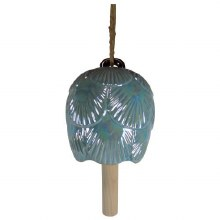 Porcelain Scallop Shell Bell