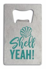 Shell Yeah Bottle Opener