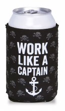 Work Like A Captain Koozie