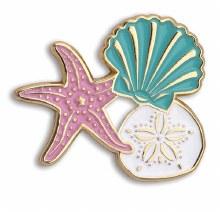 Enamel Shells Pin