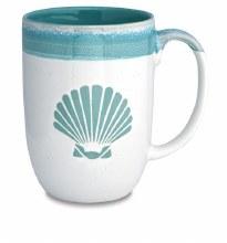 Dipped Mug Scallop Shell